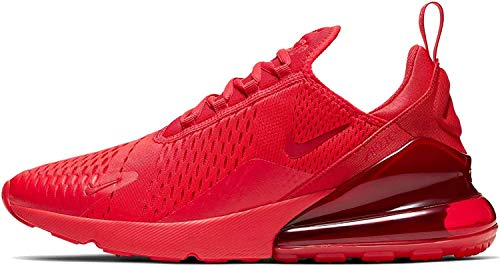 Nike Air Max 270 Mens Running Shoes Cv7544-600, University Red/University Red-black, 9.5