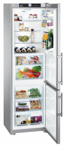 Liebherr CBNPbs 3756 Premium BioFresh NoFrost Independiente 297L A+++ Acero inoxidable nevera y congelador - Frigorífico (297 L, SN-T, 16 kg/24h, A+++, Compartimiento de zona fresca, Acero inoxidable)