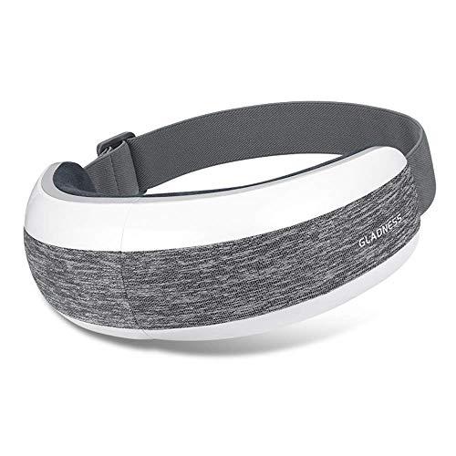 XYFW Faltbares Augenmassagegerät 42 ° Konstante Temperatur Heiße Kompresse Akupressurmassagegerät Bluetooth Student Augenschutz Augenringe, Visuelle Ermüdung, Trockene Augen