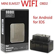 Uncle next door Mini ELM327 WiFi OBD2 V1.5 OBD 2 OBDII Car Diagnostic Scan Tool Auto OBD Scanner Car Trouble Detector Support for Android for iOS Phones