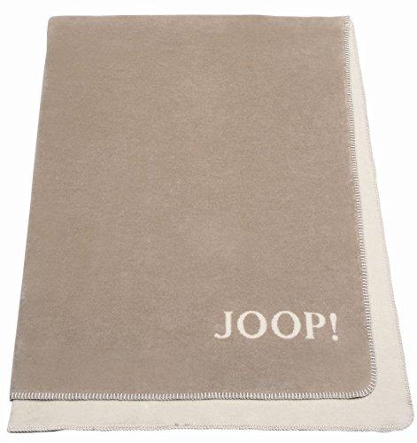 JOOP! Wohndecke Uni Doubleface 150 x 200 cm, sand