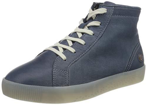 Softinos Damen SALI583SOF Hohe Sneaker, Blau (Navy 003), 37 EU
