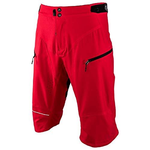 O'NEAL Rockstacker Shorts MTB Schlauch Kurz Fahrrad Mountainbike Sport DH Downhill, 1071, Farbe Rot, Größe 38