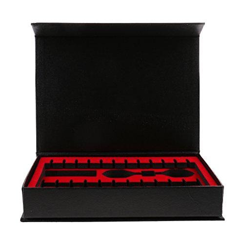 perfeclan Dartkoffer Ohne Inhalt Darts Tasche Dartbox Etui 20 x 14,1 x 3,6 cm