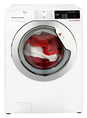 Hoover WDXOA 485C Freestanding Washer Dryer, NFC Connected, 8Kg Wash/5Kg Dry Load, 1400rpm Spin, White