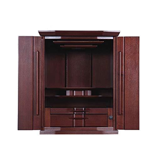 HLZY Altare Cabinet - Porta Statua di Buddha for la meditazione, accessori for la casa Altare Gabinetto Zen Santuario Enshrined
