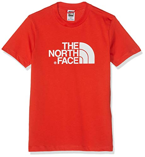 The North Face Easy Tee T-Shirt Mixte Enfant, Rouge (Fiery Red/TNF White), S