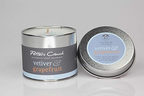 Potten Crouch - Kaars Tin - Vetiver en Grapefruit