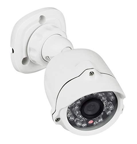 Legrand, CCTV - Überwachungskamera mit Tag & Nacht Infrarot-Farbkamera (LED) für den Außenbereich (IP66), 369400