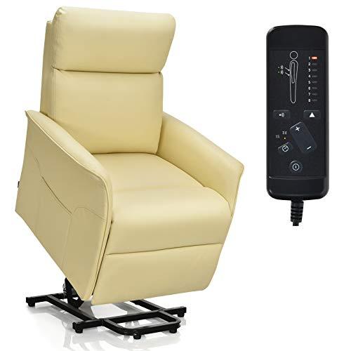 Giantex Electric Power Lift Massage Recliner, Modern Vibrating Lift Chair...