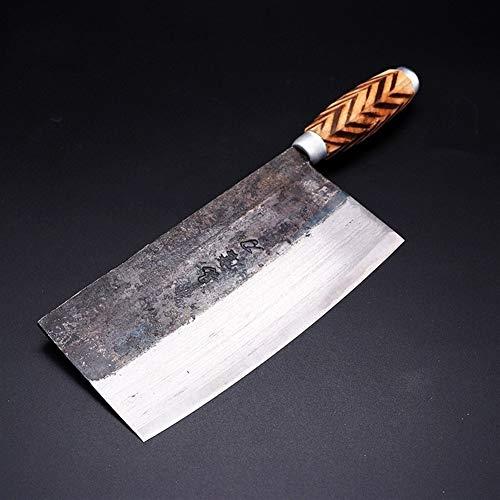 chef cuchillos Mango chino hecho a mano cuchillos de cocina de alta cocina carbono forjado de madera...
