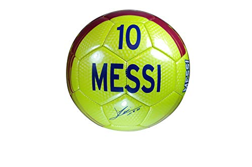 FC Barcelona Official Licensed Messi 10 Signature Soccer Ball - 11-5