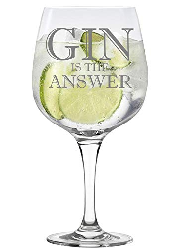 Lapal Dimension Gin is the Answer Copa Gin-Glas