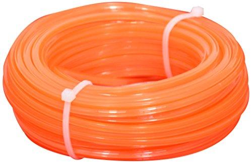 Corderie Italiane 006032212 Fil débroussailleuse, Carré, 4 mm, 15 m, Orange
