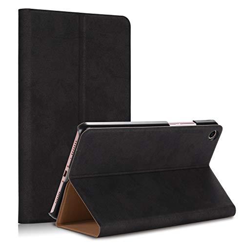 TenYll Xiaomi Mi Pad 4 Plus Cover, Ultrasottile Custodia in Pelle PU, Leggera Folio Custodia per Xiaomi Mi Pad 4 Plus Custodia Tavoletta -Nero