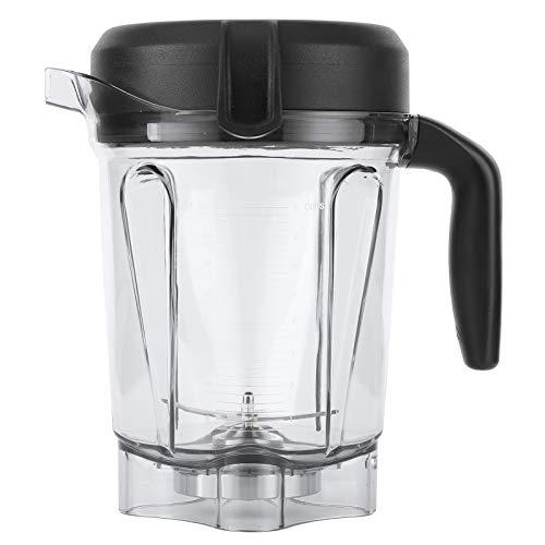 Recipiente para liquidificador, recipiente transparente para liquidificador de alimentos com tampa de lâmina, acessórios de substituição para recipiente Vitamix 1,8 l, compatível com máquinas da série G, adequado para Vitamix 5300