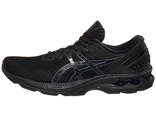 ASICS Men's Gel-Kayano 27 Running Shoes, 9.5M, Black/Black