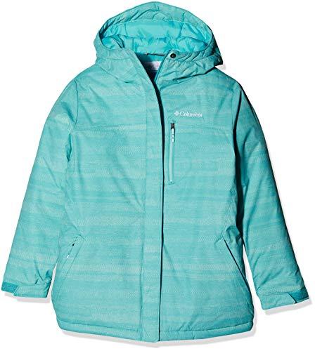 Columbia Jungen Ski-Jacke, Alpine Free Fall II, Blau (Geyser Compact Strokes), XXS
