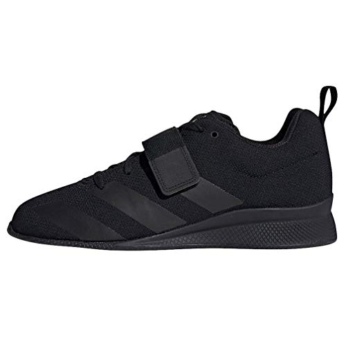 adidas Men's Adipower Weightlifting II Cross Trainer, Black/Black/Black, 15