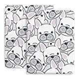 Case for Ipad Air 4th Generation Dog French Bulldog Puppy Face Head Fit Ipad Air 4 Case (10.9-inch, 2020)/fit Ipad Pro 11
