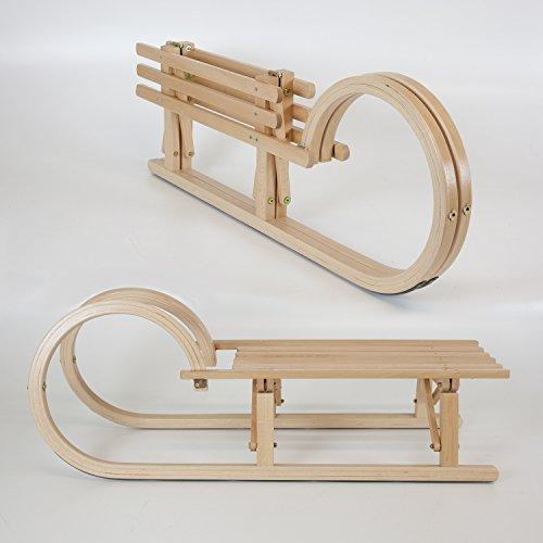 Holzfee Tourer Baran 100 cm Hörnerschlitten mit Leine Tourer Baran 100 cm
