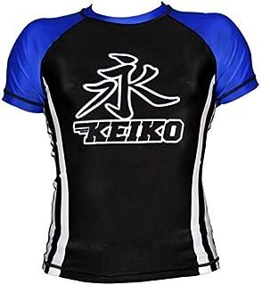 Rashguard Speed Manga Curta Keiko Sports Unissex G Azul