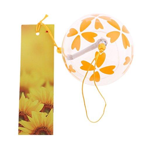 B Baosity Verre De Style Japonais Vent Chine Suspendus Cadeaux De Décoration De Jardin De Cloche - Couleur #13