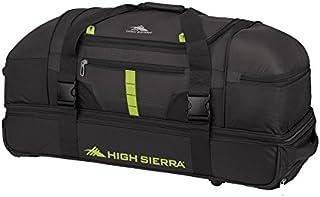 "High Sierra Evolution Wheeled Drop Bottom Duffel Bag, 30"""