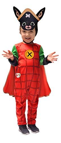 Ciao-Costume Capitan Bing Bambini unisex, 2-3 anni (Da Spalle a terra 78 cm), 11281.2-3