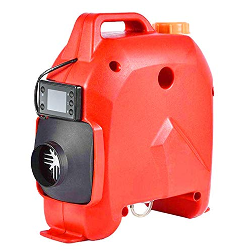 YUNSHAO 5KW 12V/24V Tragbar Air Standheizung Air Diesel Heizung Kraftstoff Heizung Lufterhitzer mit Fernbedienung LCD Monitor für Auto, RV, Boote, LKW, Wohnmobil Anhänger, Wohnmobile (Size : 12V/5KW)