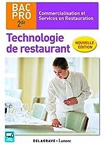 Technologie de restaurant 2de Bac Pro CSR (2016) - Pochette élève de Coralie Beauvallet