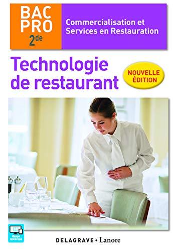 Technologie de restaurant 2de Bac Pro CSR (2016)
