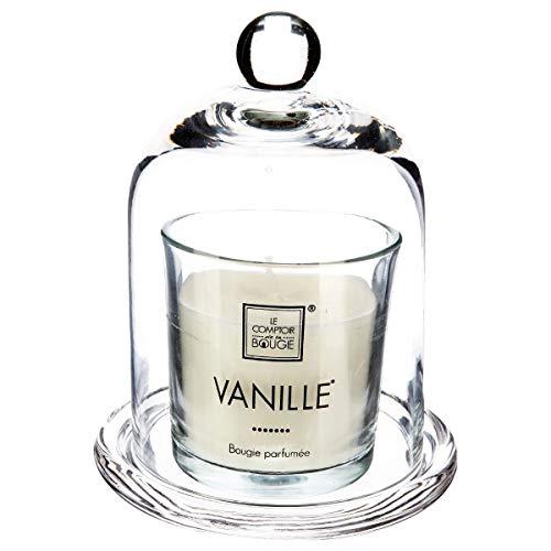 Candela profumata alla vaniglia + campana 120G