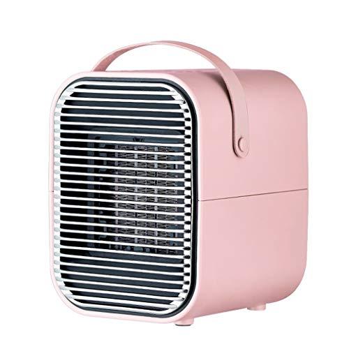 LRR Winterverwarming, keramische ventilatorkachel met thermostaat, mini-warmtestraler, energiebesparende werking voor het thuiskantoor