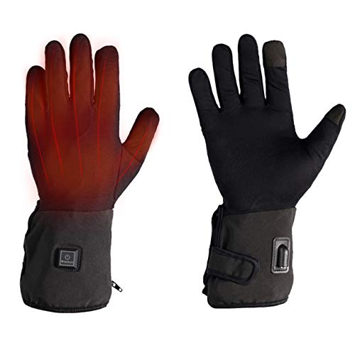 Venture Heat 12V Motorcycle Heated Glove Liner, Built in Controller - 7 Watt, Hand Warming Riding...