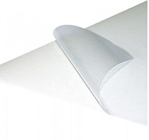 Carta adesiva trasparente - stampa laser 30 fogli A4