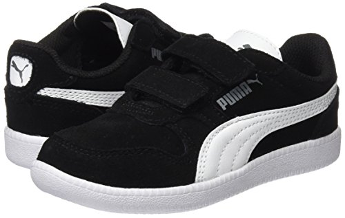 Puma Unisex-Kinder Icra Trainer SD V PS Sneaker, Schwarz Black-White - 4