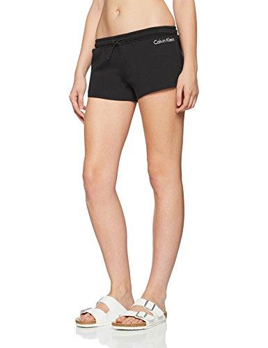 Calvin Klein Damen Spacer Short Sportshorts, Schwarz (Pvh Black 001), 36 (S)