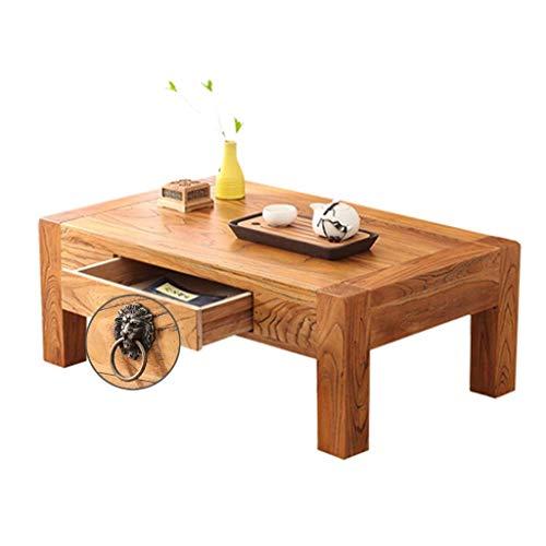 HGXC Mesas de café Mesa de Ventana salediza Mesa de Comedor de Sala de Estar con cajones Mesas de Muebles de Escritorio de Estudio