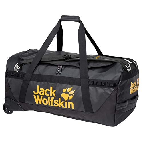 Jack Wolfskin Expedition Roller 130 Reisetasche, Black, ONE Size
