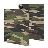 Coque pour iPad Pro 2020 (11 pouces), motif camouflage sans couture pour iPad Pro 2020 (11 pouces),...