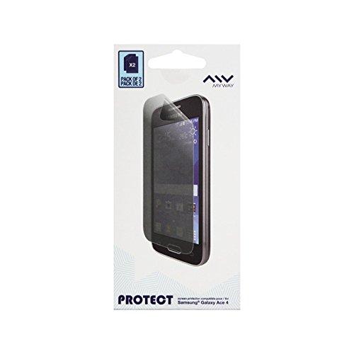 MY WAY SCSA28WNAC00A04 E Pellicola di Protezione Schermo per Samsung Galaxy Ace 4, Colore: Trasparente
