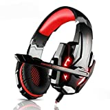 Ninja Dragon G9300 LED Gaming Headset with Microphone RED