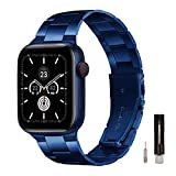 GEARYOU Metall Armband Kompatibel mit Apple Watch Armband 40 mm 38 mm 44 mm 42 mm, Business-Armband...