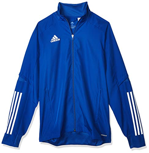 adidas CON20 PRE JKT Sport Jacket, Hombre, Team Royal Blue/White, L