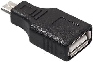 happyhouse009 10 St/ück USB Stecker auf Mini Micro Buchse Micro USB Host OTG Kabel USB OTG Kabel Adapter Stecker auf USB Buchse Adapter OTG Adapter Konverterset f/ür Android-Handys 10 Pcs