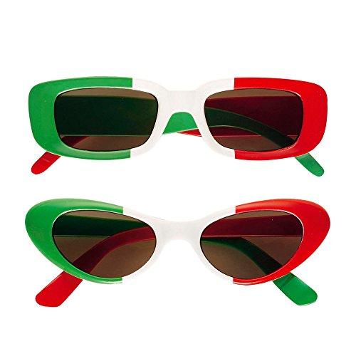Widmann 6648I Brille, grün/rot/weiß, Italien