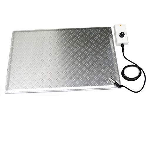 IR Heizplatte 60x96cm mit Thermostat Industrie Aluminium Infrarot-Strahler