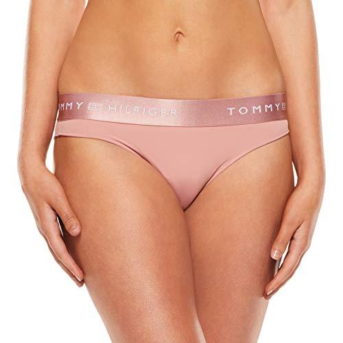 Tommy Hilfiger Essential Bikini Briefs Capa de Base Inferior, Rosa Ceniza, M para Mujer