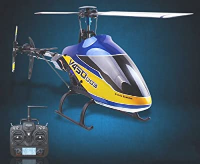 Walkera @V450D03 DEVO 7 RTF 6 Axis Gyro Flybarless 450 RC Helicopter by Walkera